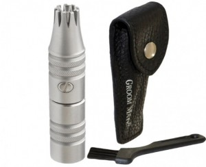 nose hair trimmer - Groom-Mate-Platinum-XL-Nose-and-Ear-Hair-Trimmer