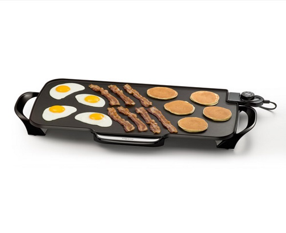 Best SaucePan - Presto 07061 22-inch Electric Griddle with Removable Handles