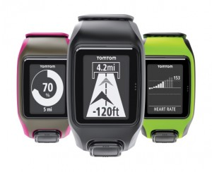 Best GPS Running Watch - TomTom-Multi-Sport-range-colours