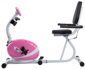 Best Recumbent Bike review - Sunny Health and Fitness Pink Magnetic Recumbent Bike