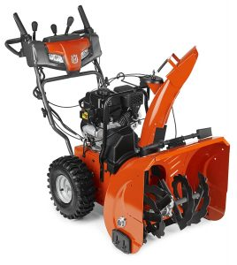 best snow blower reviews - husqvarna st224 24 inch 208cc two stage electric start snowthrower