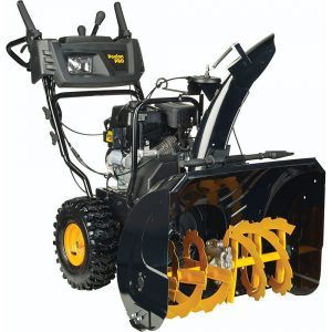 best snow blower reviews - Poulan PRO PR270 27 Inch Two Stage Electric Start Snow Thrower