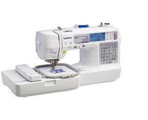 Best Sewing Machine - Brother SE400 Combination Computerized Sewing and Embroidery Machine