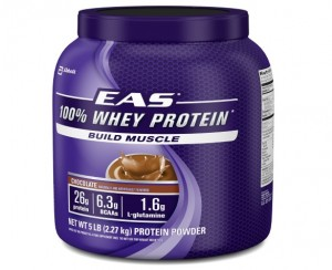 Best Whey Protein - EAS 100% Whey Protein - Chocolate
