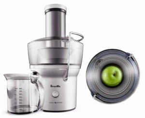 Best Juicer review - Breville Compact Juice Fountain BJE200XL
