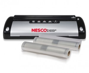 best food vacuum sealer - Nesco VS-02 Food Vacuum Sealer