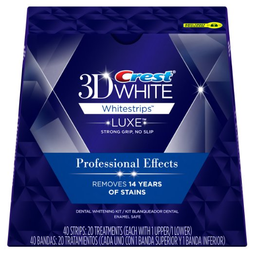 best teeth whitening kit - Crest 3D White Professional Effects Whitestrips Teeth Whitening Kit