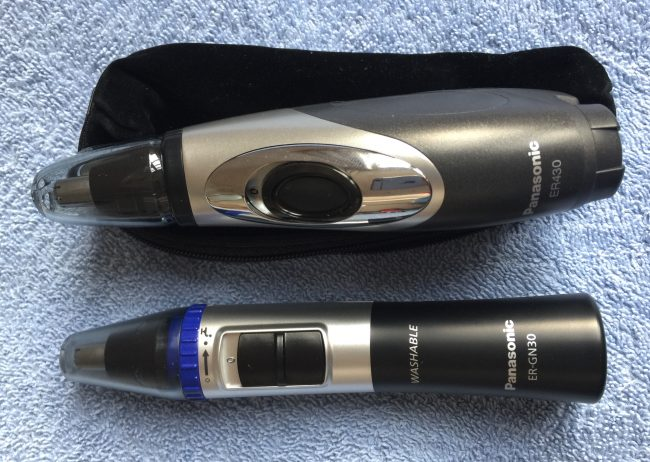 Panasonic ER430K and ER-GN30-K best Nose and ear hair Hair Trimmer