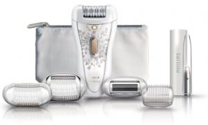 Best epilator armpits - Philips HP6576 Satin Perfect Deluxe Epilator