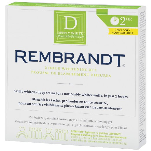 best teeth whitening kit - Rembrandt 2-Hour Whitening Kit