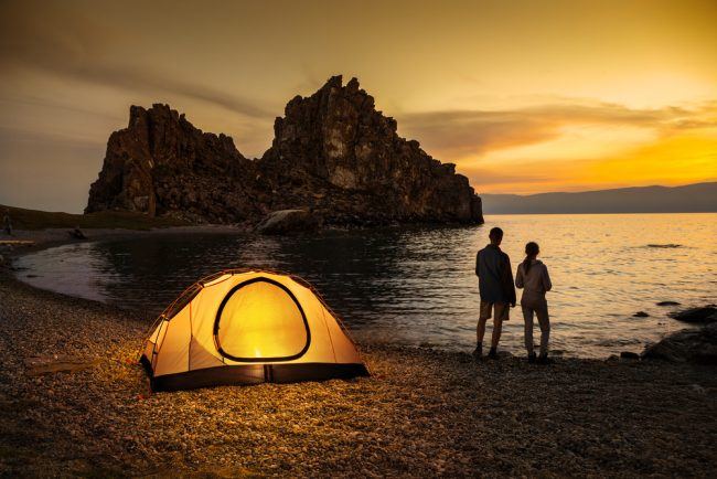 Best Two Person Camping Tents - couple camping