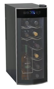 Best Wine Refrigerator - Avanti 12-Bottle Thermoelectric Counter Top Wine Cooler