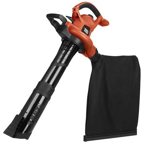 Best Leaf Blower - Black and Decker BV6600 High Performance BlowerVacMulcher