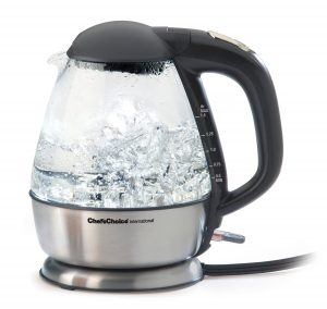 Best Electric Kettle - Chef's Choice 6800001 Cordless Electric Glass Kettle