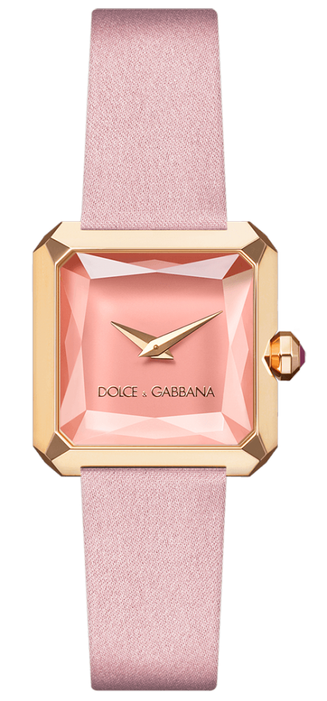 Luxury Watches For Women - Dolce & Gabbana Sofia Pink Gold
