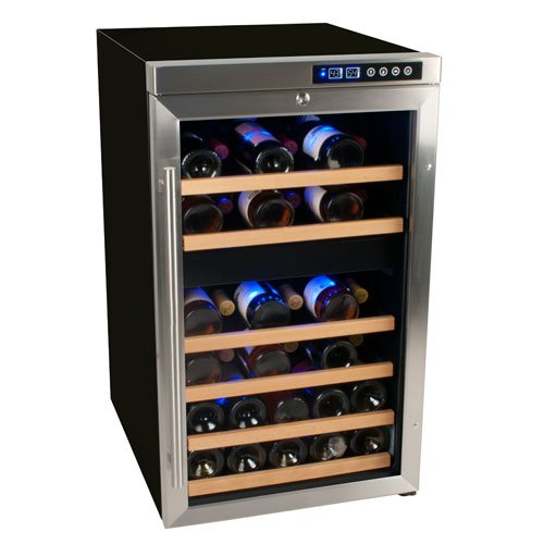 Best Wine Refrigerator - EdgeStar 34 Bottle Free Standing Dual Zone Wine Cooler