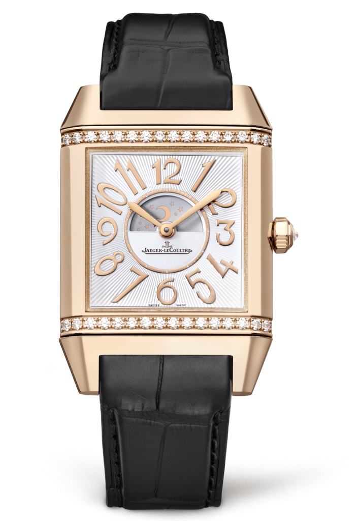 Luxury Watches For Women - Jaeger-LeCoultre Reverso Squadra Lady Duetto Pink Gold