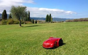 robotic lawn mower reviews - LawnBott LB300EL