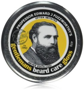 beard wax - Professor Fuzzworthys Beard Care Balm