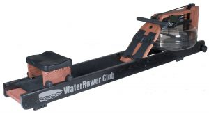 best rowing machine - WaterRower Club Rowing Machine in Ash Wood with S4 Monitor