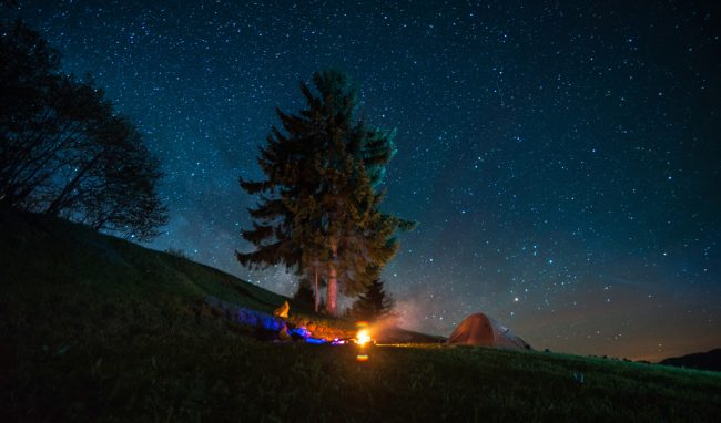 stars and fire