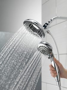 Best Shower Head Reviews - Delta Faucet 58045 Traditional In2ition Two-in-One Shower