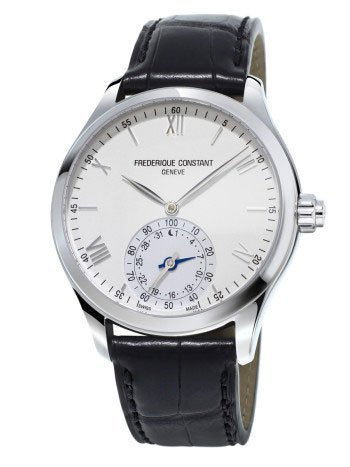 best luxury watches under - Frederique Constant Horological Smart Watch Silver Dial Mens Watch