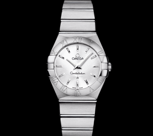 best luxury watches under - Omega Women's 123.10.27.60.02.001 Constellation Silver Dial Watch