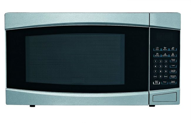 best countertop microwave review - RCA RMW1414 Stainless Steel Microwave