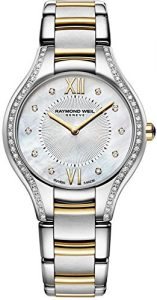 best luxury watches under - Raymond Weil Noemia Mother of Pearl Two-tone Ladies Watch