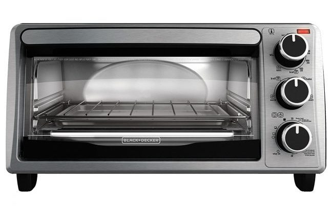 best toaster oven review - Black & Decker TO1303SB 4-Slice Toaster Oven