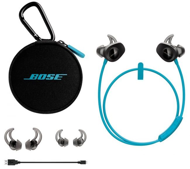 Fitness gifts - bose soundsport wireless headphones