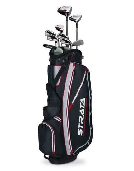 Fitness gifts - callaway mens strata complete golf club set with bag