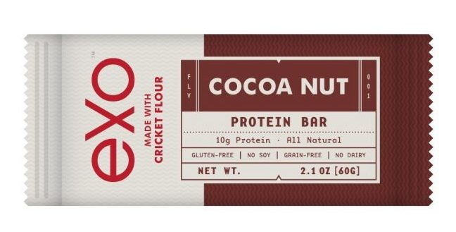 Fitness gifts - exo-cricket-flour-protein-bars