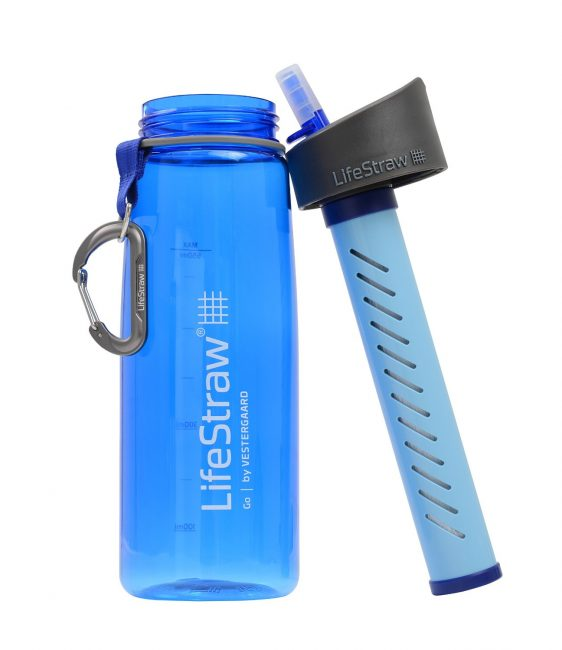 LifeStraw Go Water Bottle with Integrated 1,000 Liter LifeStraw Filter