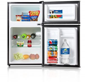 best mini fridge - Avalon By Keyton A1-31CFDDBLK Refrigerator And Freezer