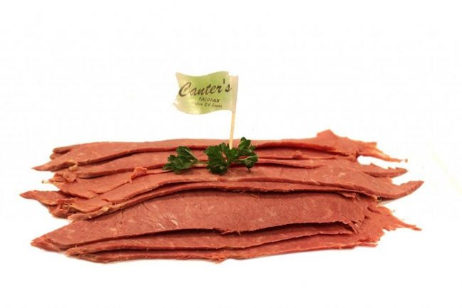Saint Patrick's Day Celebrations - Canter's Deli Sliced Lean Corned Beef