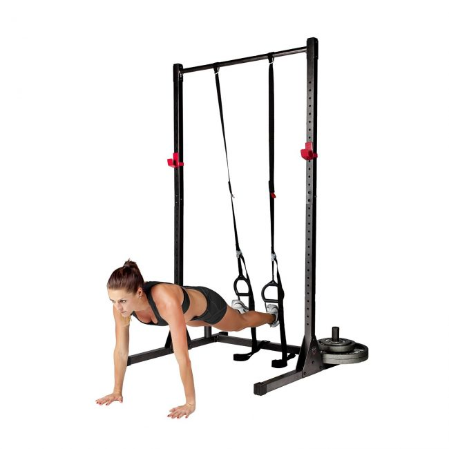 Equipment Ultimate Garage Gym - Cap Barbell Power Rack Exercise Stand