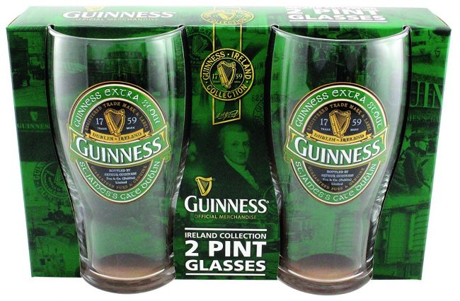 Saint Patrick's Day Celebrations - Guinness Green Collection Pint Glasses