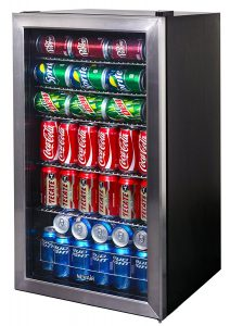 best mini fridge - NewAir AB-1200 126-Can Beverage Cooler