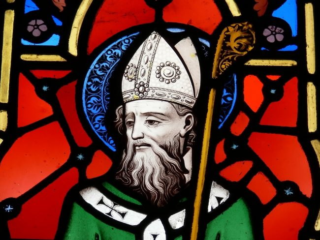 Saint Patrick's Day Celebrations - Saint Patrick's Day Celebrations - stain glass window