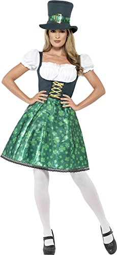 Saint Patrick's Day Celebrations - Smiffy's Womens Leprechaun Lass Costume