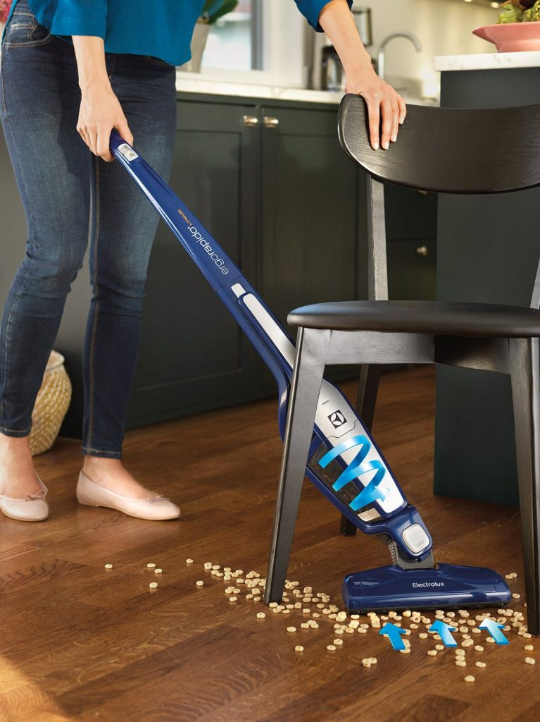 Best Cordless Stick Vacuum review - Electrolux Ergorapido EL2055B 2-in-1 Stick And Handheld Vacuum