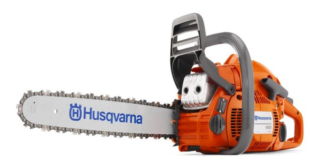 best chainsaw review - Husqvarna 450 18-Inch Gas Powered Chain Saw