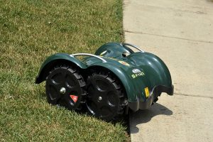 robot lawn mower no perimeter wire