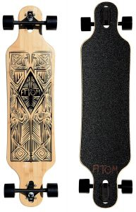Best Longboard Review - Atom Drop Through Longboard - 40 Inch