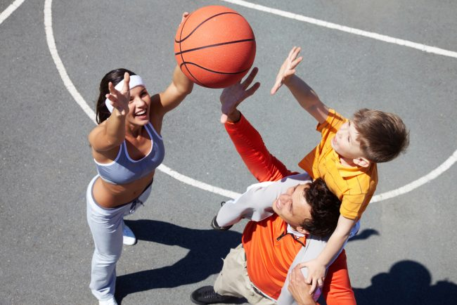Best Basketball Hoop Review - family