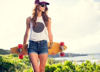 Best Longboard Review - girl