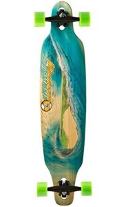 Best Longboard Review - Sector 9 Blue Wave Lookout Dropthrough Complete Longboard