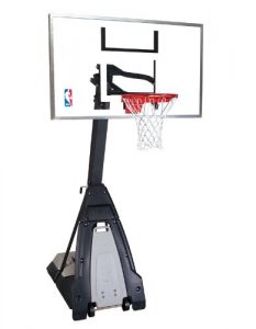 Best Basketball Hoop Review -Spaulding nba portable basketball system